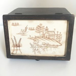 Other - Vintage Asian Decorative Box